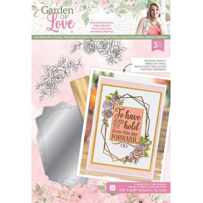 Crafter's Companion Garden of Love - Embellished Frame