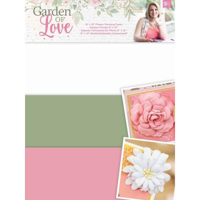 Crafter's Companion Garden of Love -  Flower Forming Foam
