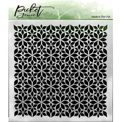 Picket Fence Studios Stencil - Flowers