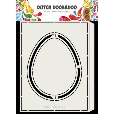 Dutch Doobadoo Card Art - Accordion Egg