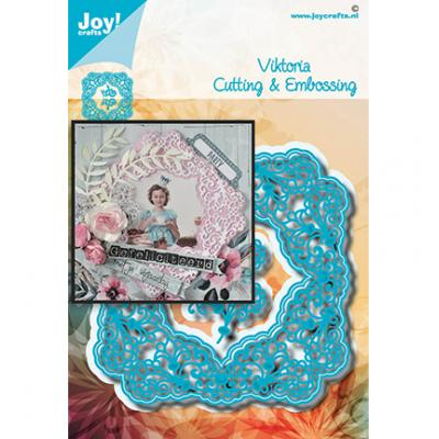 Joy!Crafts Stanzschablonen - Viereck Viktoria