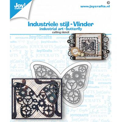 Joy!Crafts Stanzschablone - Industrieller Schmetterling