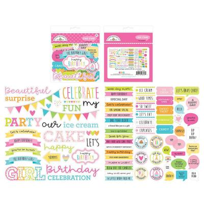 Doodlebug Hey Cupcake - Chit Chat