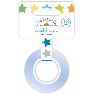 Doodlebug Party Time Washi Tape -  Let's Celebrate