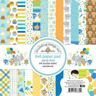 Doodlebug Party Time - Paper Pad