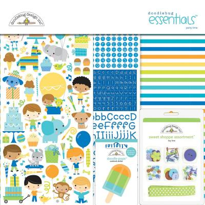 Doodlebug Party Time - Essentials Kit