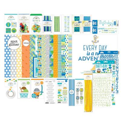 Doodlebug Party Time Value Bundle - Birthday Boy