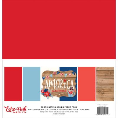 Echo Park America by Lori Whitlock - Solids Kit