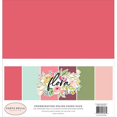 Carta Bella Flora No.3 - Solids Kit