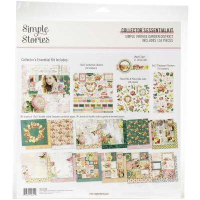 Simple Stories Vintage Garden District Designpapier - Collector's Essential Kit