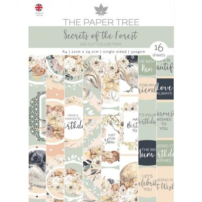 Creative Expressions The Paper Tree Secrets Designpapier - Die Cut Pad