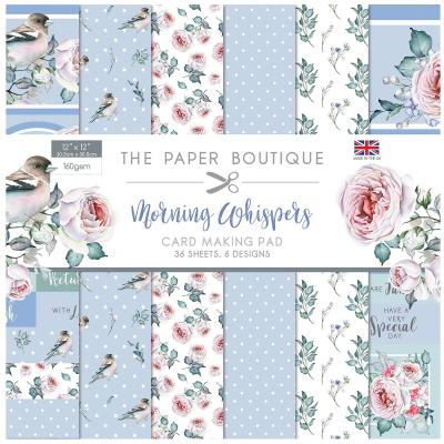 The Paper Boutique Morning Whispers  Designpapier - Card Making Pad