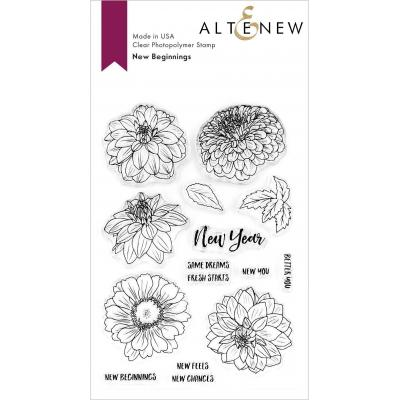 Altenew Clear Stamps - New Beginnings