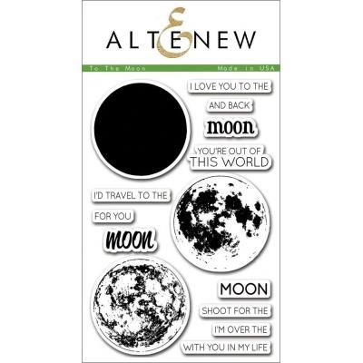Altenew Clear Stamps - To the Moon