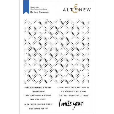 Altenew Clear Stamps - Dotted Diamonds