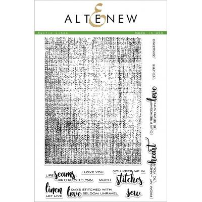 Altenew Clear Stamps - Rustic Linen