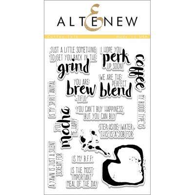 Altenew Clear Stamps - Coffee Talk