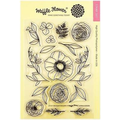 Waffle Flower Crafts Clear Stamps - Bouquet Builder 7