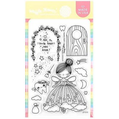 Waffle Flower Crafts Clear Stamps - Tooth Fairy