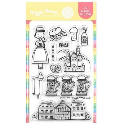 Waffle Flower Crafts Clear Stamps - Prost Germany