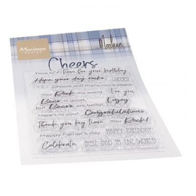 Marianne Design Clear Stamps - Cheers