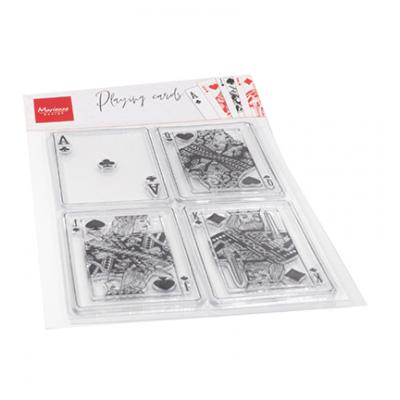 Marianne Design Clear Stamps - Playing Cards