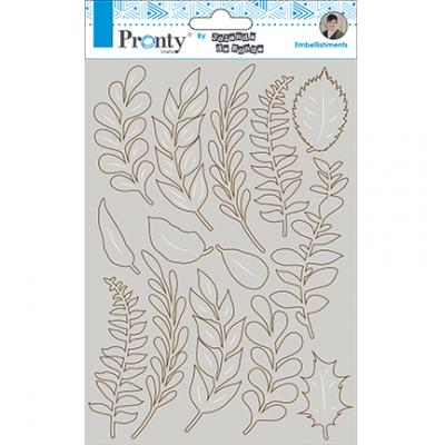 Pronty Chipboard - Leaves