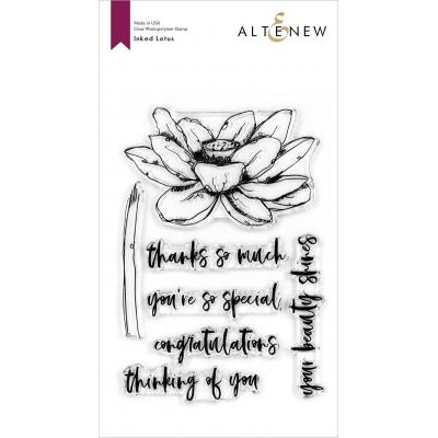 Altenew Clear Stamps - Inked Lotus