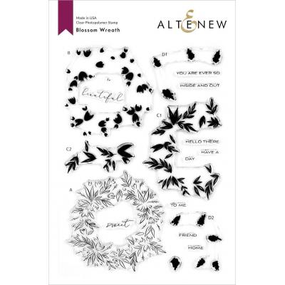 Altenew Clear Stamps - Blossom Wreath