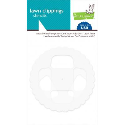 Lawn Fawn Reveal Wheel Templates - Car Critters Add-On