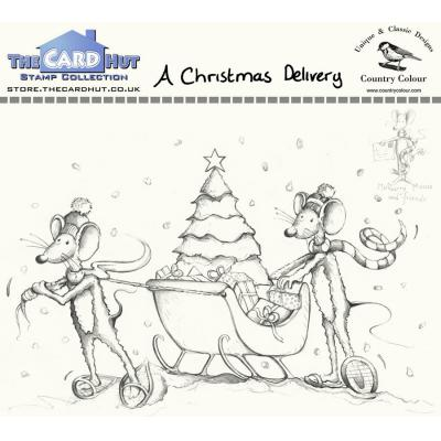 The Card Hut Clear Stamps - A Christmas Delivery