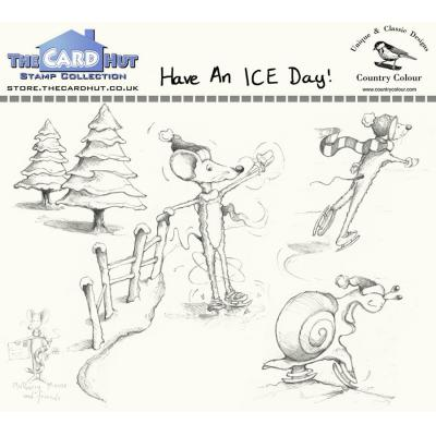 The Card Hut Clear Stamps - Have an ICE Day