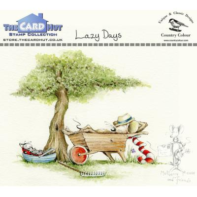 The Card Hut Clear Stamps - Lazy Days