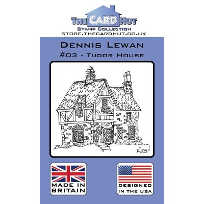 The Card Hut Clear Stamps - Tudor House