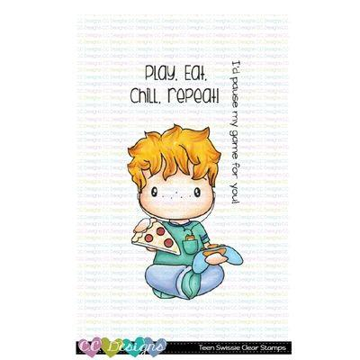C.C. Designs Clear Stamps - Teen Swissie