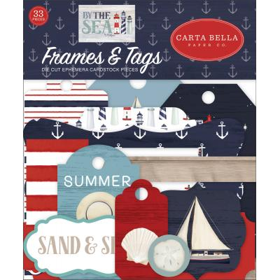 Carta Bella By The Sea Die Cuts - Frames & Tags