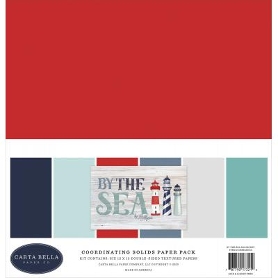 Carta Bella By The Sea Cardstock - Solids Kit
