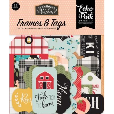 Echo Park Farmhouse Kitchen - Frames & Tags