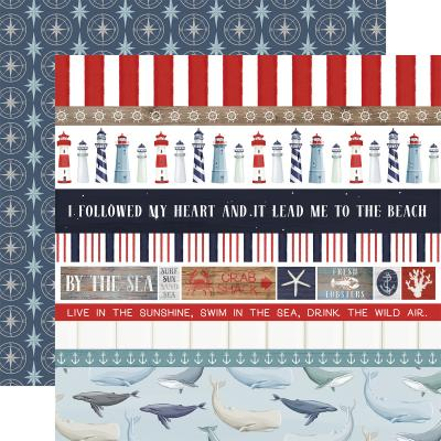 Carta Bella By The Sea Designpapier - Border Strips