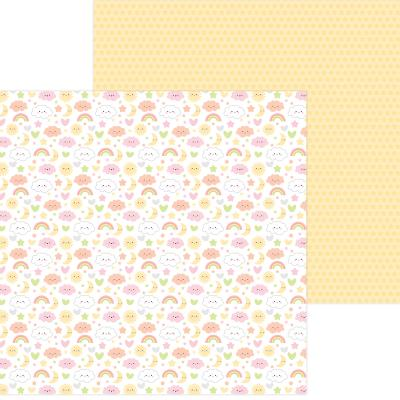 Doodlebug Baby Girl Designpapier - Sweet Dreams