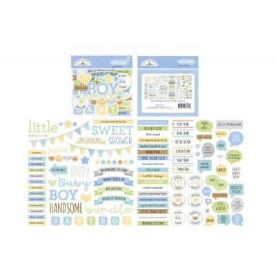 Doodlebug Baby Boy Die Cuts - Chit Chat
