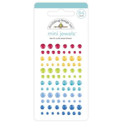 Doodlebug Bar-B-Cute Sticker - Mini Jewels