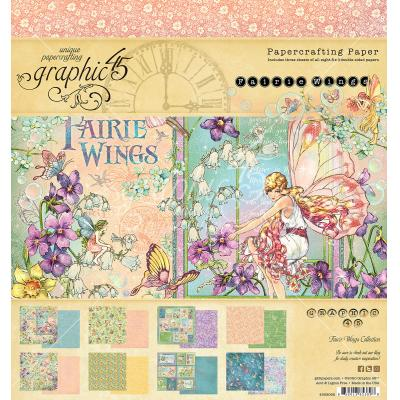 Graphic 45 Fairie Wings Designpapier - Paper Pad