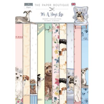The Paper Boutique It's A Dogs Life Designpapier - Insert Collection