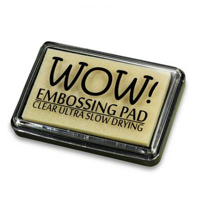 Wow!  Embossing Pad Ultra Slow Drying Ink Pad