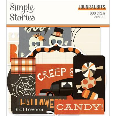 Simple Stories Boo Crew Die Cuts - Bits & Pieces