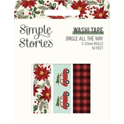 Simple Stories Jingle All The Way Klebebänder - Washi Tape