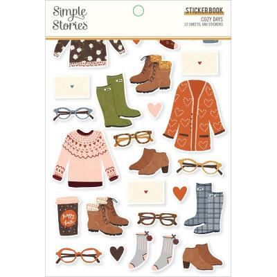 Simple Stories Cozy Days - Sticker Book