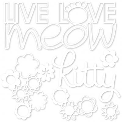 Bella BLVD Chloe Cut Outs - Live Love Meow