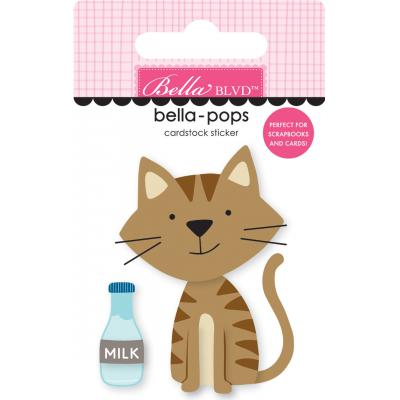 Bella BLVD Chloe Bella-Pops Sticker - Tabby Cat